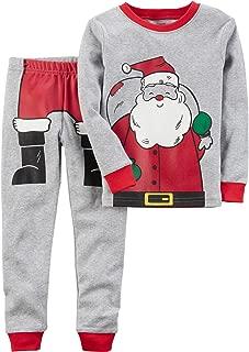 Carter's Boys' 4-12 2 Piece Gingerbread Snug Fit Cotton Pajamas