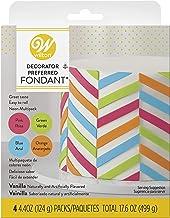 Wilton Decorator Preferred Neon Fondant, 4-Pack Fondant Icing