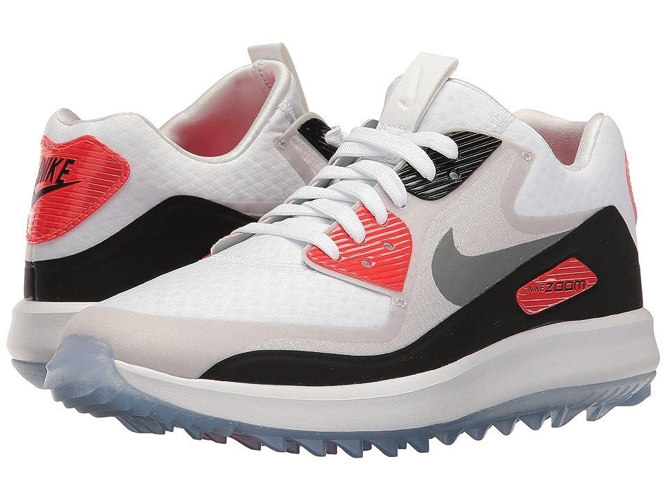 Nike Golf Air Zoom 90 IT (White/Cool Grey/Natural Grey/Black) Women