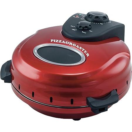 FUKAI 回転石窯ピザ&ロースタータイマー付き FPM-220 レッド