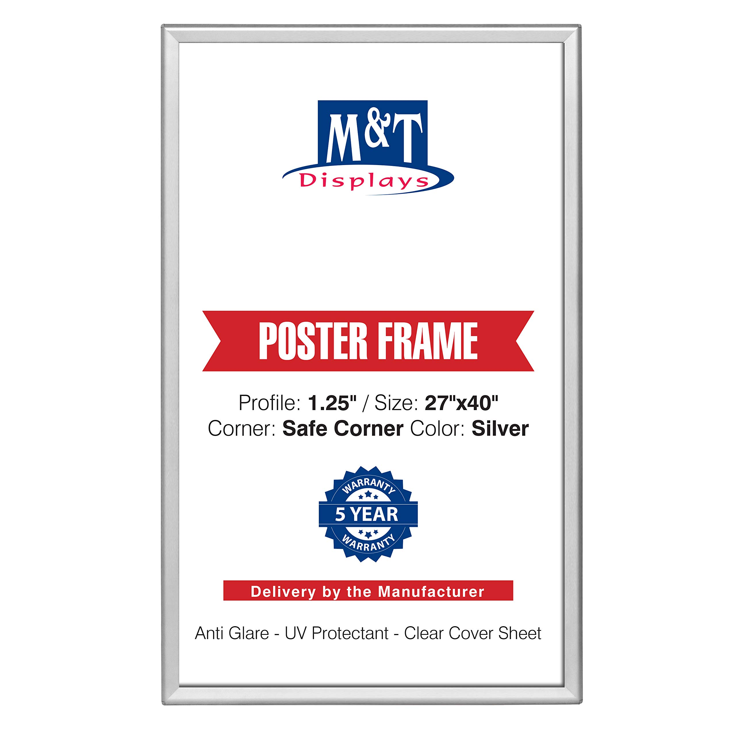 420mm x 594mm Signware 2 x Anti-Glare Replacement Covers for Snap Frames and A-Board Pavement Signs A2