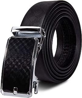 Genuine Leather Belt Men Automatic Buckle Gold Belt 160cm Long Mens Trouser Charm Belts