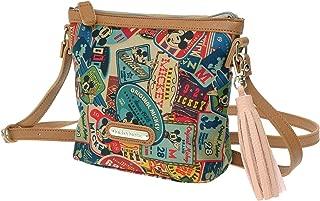 A138.Disney Mickey Mouse Women Vintage Shoulder Cross Body Bag Handbag