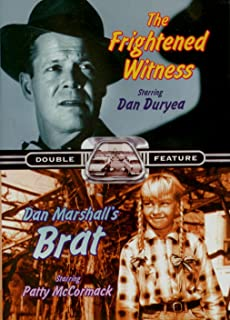 TV Double Feature - Cavalcade Of America - The Frightened Witness/Don Marshall's Brat [DVD]