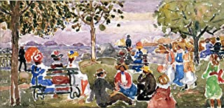 Maurice Prendergast Gloucester Park 1923 Worcester Art Museum - MA 30