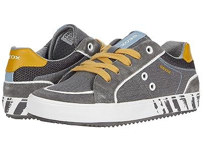 Geox Kids Alonisso 46 (Little Kid/Big Kid) (Grey/Yellow) Boy