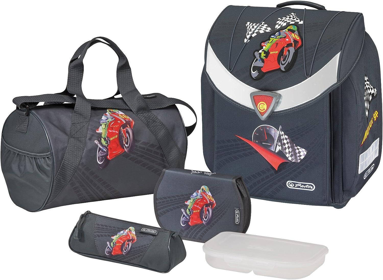Herlitz Schoolbag Set 11350881 Black