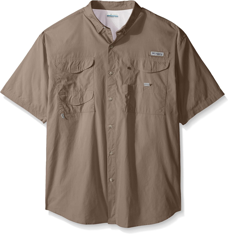 Columbia Men's Bonehead Shorts Sleeve Big Tall Shirt, Kettle, X-Large