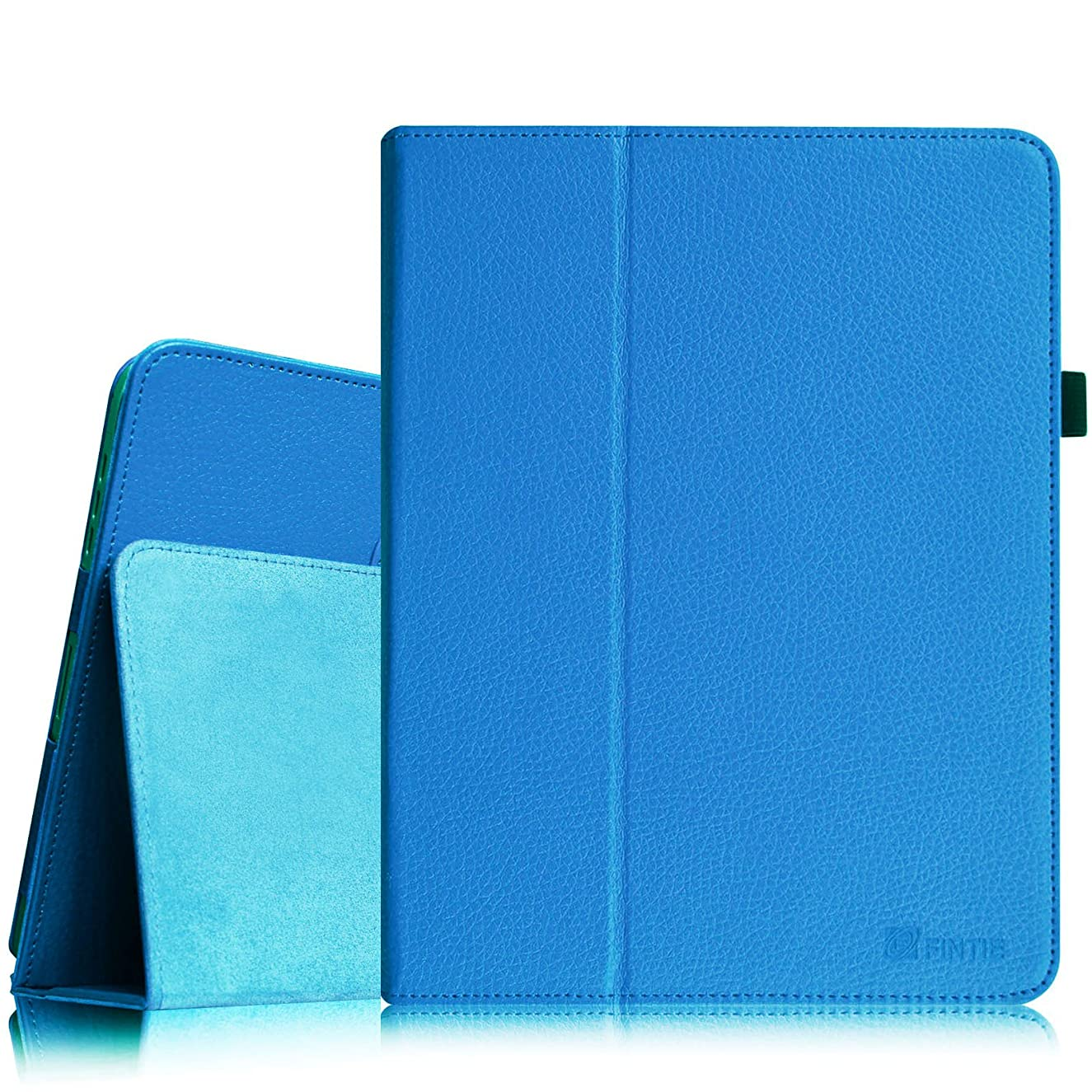 Fintie iPad 1 Folio Case - Slim Fit Vegan Leather Stand Cover with Stylus Holder for Apple iPad 1st Generation, Blue