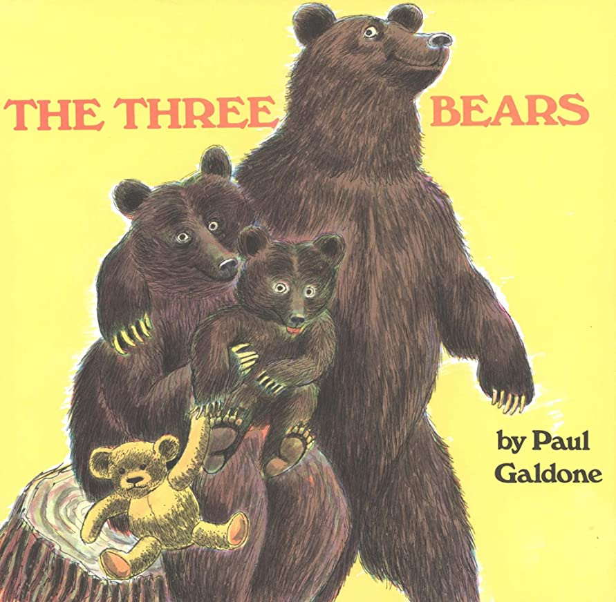 オセアニアとは異なり羊のThe Three Bears (Paul Galdone Classics) (English Edition)