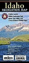Idaho Recreation Map (Benchmark Maps: Idaho)