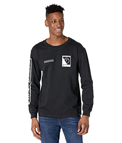 The North Face Steep Tech Long Sleeve Tee (TNF Black) Clothing