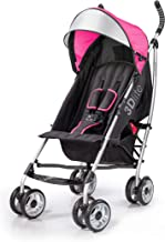 Best Summer 3Dlite Convenience Stroller, Pink – Lightweight Stroller with Aluminum Frame, Large Seat Area, 4 Position Recline, Extra Large Storage Basket – Infant Stroller for Travel and More Review