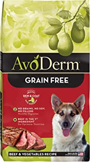 AvoDerm Natural All Life Stages Dry & Wet Dog Food, Grain Free, Beef & Vegetables Recipe