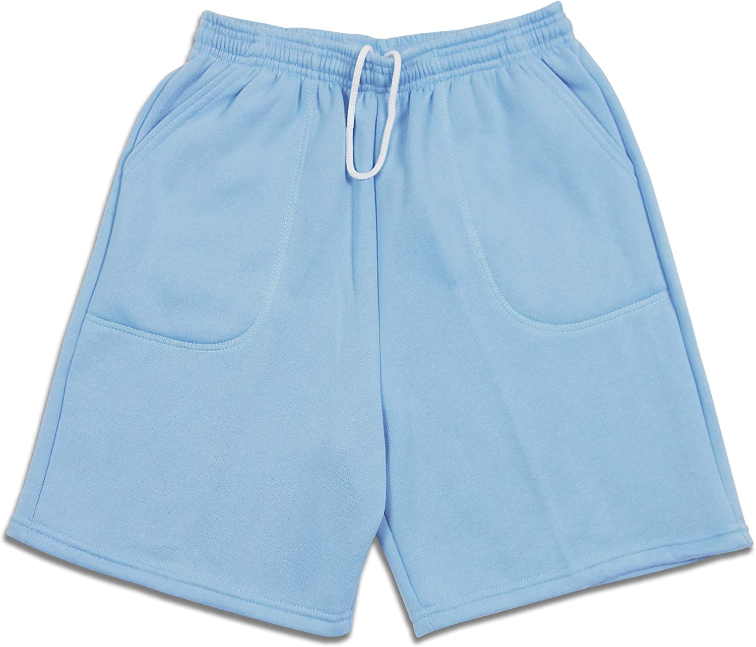 LA Speedy Men's Limited price Casual Brushed Drawst Shorts Fleece Pocket Sweat Easy-to-use