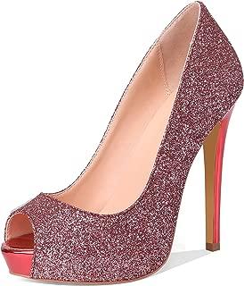 Best glitter high heels Reviews