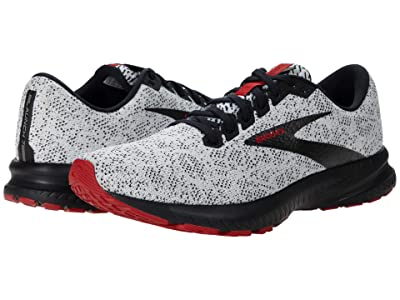 Brooks Launch 7 (White/Black/Samba) Men
