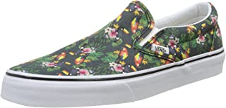Vans メンズ ユニセックス・アダルト Classic Slip-On カラー: グレー