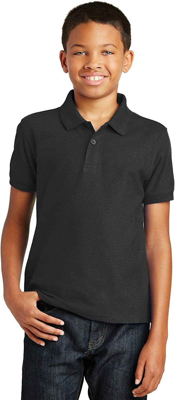 XtraFly Apparel Boys Youth Core Classic Pique Polo Shirt Y100