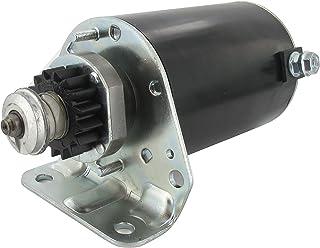 Greenstar 6277- Motor de arranque eléctrico con piñón de 16dientes adaptables para Briggs & Stratton