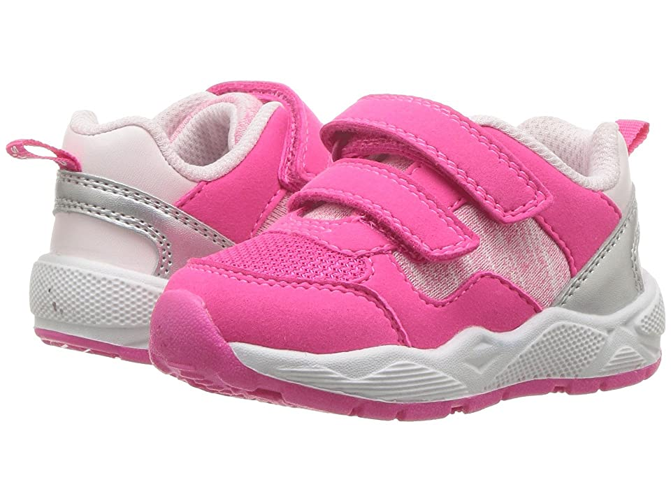 Carters Blakey-G (Toddler/Little Kid) (Pink PU Suede/Mesh/Metallic PU) Girl