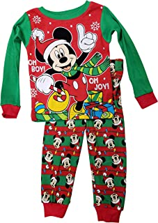 Mickey Mouse Little Boys Toddler Christmas Pajama Set