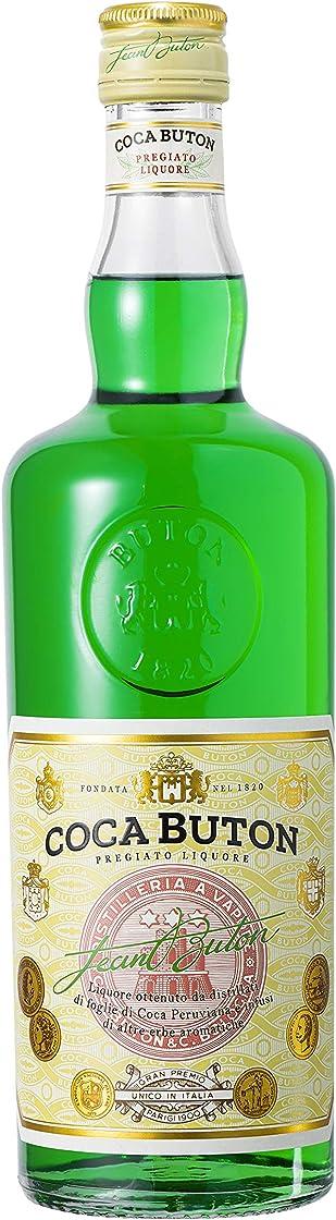 Coca buton liquore giovanni buton - liquore a base di foglie di coca peruviana e erbe aromatiche  70 cl, vol. 0016008