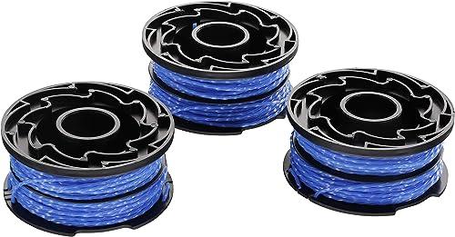 BLACK+DECKER A6441X3-XJ - Hilo de nylon para cortabordes eléctrico