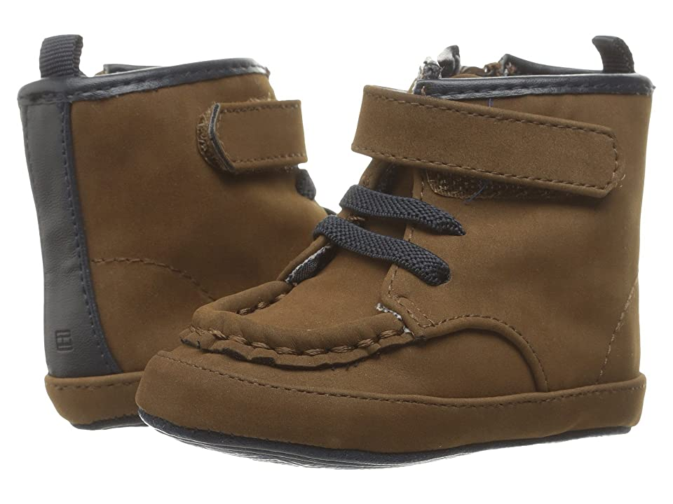 94e6b4e0d478e Tommy Hilfiger Kids Baby Aiden (Infant Toddler) (Brown) Boy s Shoes