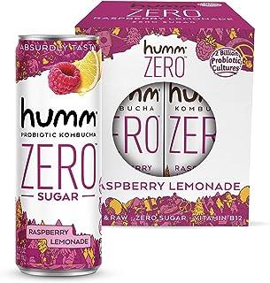 Sponsored Ad - Humm Kombucha Zero Sugar Raspberry Lemonade - Live and Raw Organic Kombucha - No Refrigeration Needed - Veg...