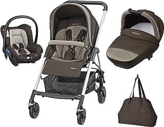 Bébé Confort Streety Next - Cochecito de paseo para bebé, 3 piezas, color earth brown