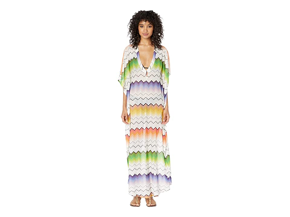 Missoni Mare - Missoni Mare Wave Placed Print Dress Cover-Up