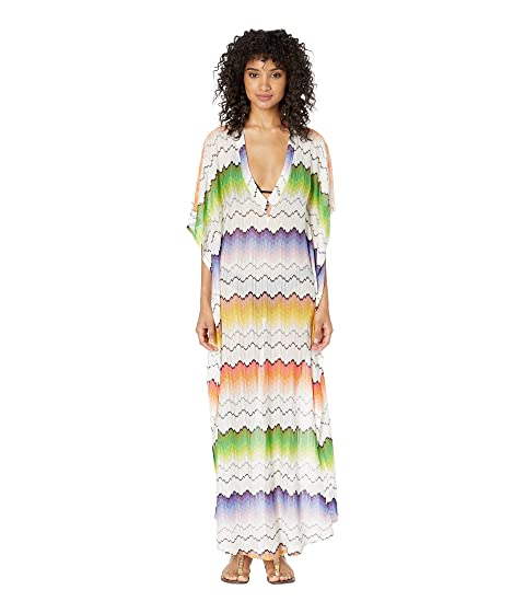 Missoni Mare Wave Placed Print Dress Cover-Up