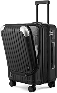 """LEVEL8 Grace EXT Carry On Luggage, 20"""" Expandable Hardside Suitcase, ABS+PC Harshell Spinner Luggage with TSA Lock, Spinne..."""