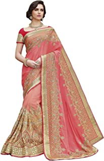 6b8b0fb567 Net Women's Sarees: Buy Net Women's Sarees online at best prices in ...