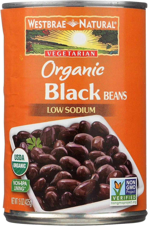 Westbrae Foods Organic Black San Jose Mall Beans - of Case 15 cheap 12 oz.