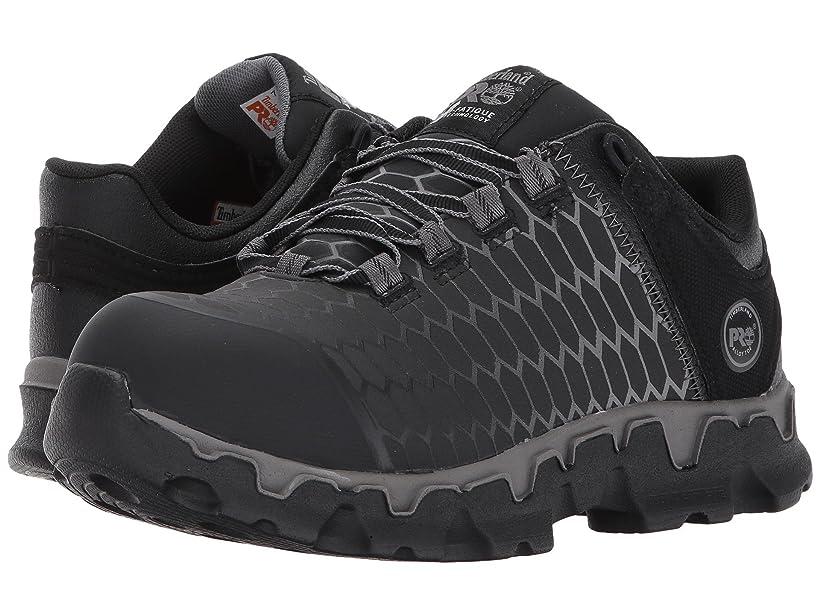 泣き叫ぶお風呂サーバント[ティンバーランド] レディースウォーキングシューズ?カジュアルスニーカー?靴 Powertrain Sport Alloy Safety Toe EH Black Raptek 8.5 (25.5cm) B - Medium [並行輸入品]