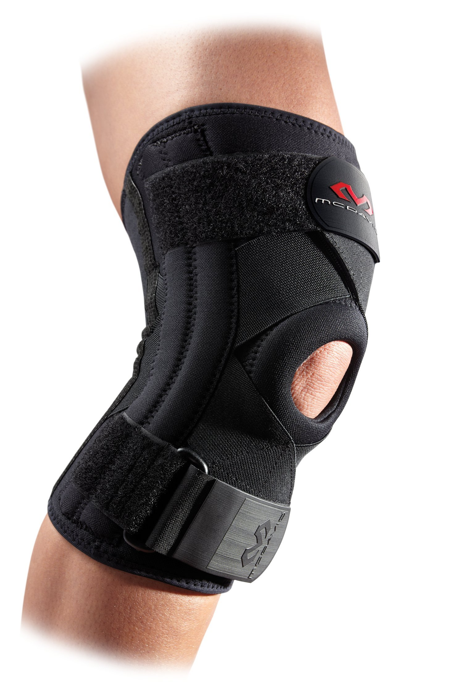 Injury Recovery /& Prevention from Minor to Moderate Injuries McDavid Knee Brace Compression Sleeve w//Knee Wrap Support /& Side Stays Knee Stabilizer for Pain Relief for Men /& Women