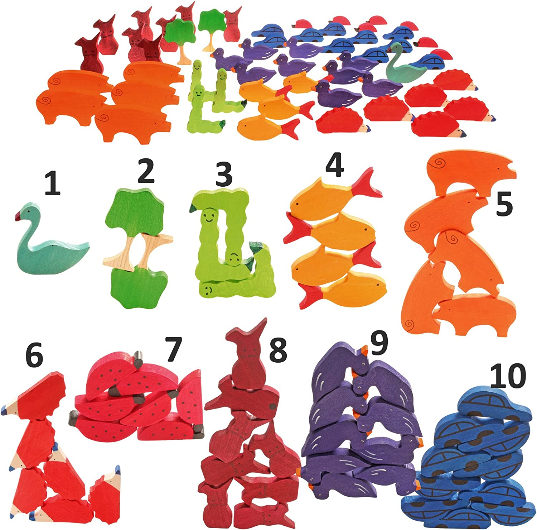 Grimms Holzspielzeug - 55 Figuren zum Zhlen und Erzhlen