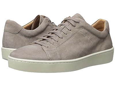 Vince Slater Leather Sneaker (Granite/Graphite) Men