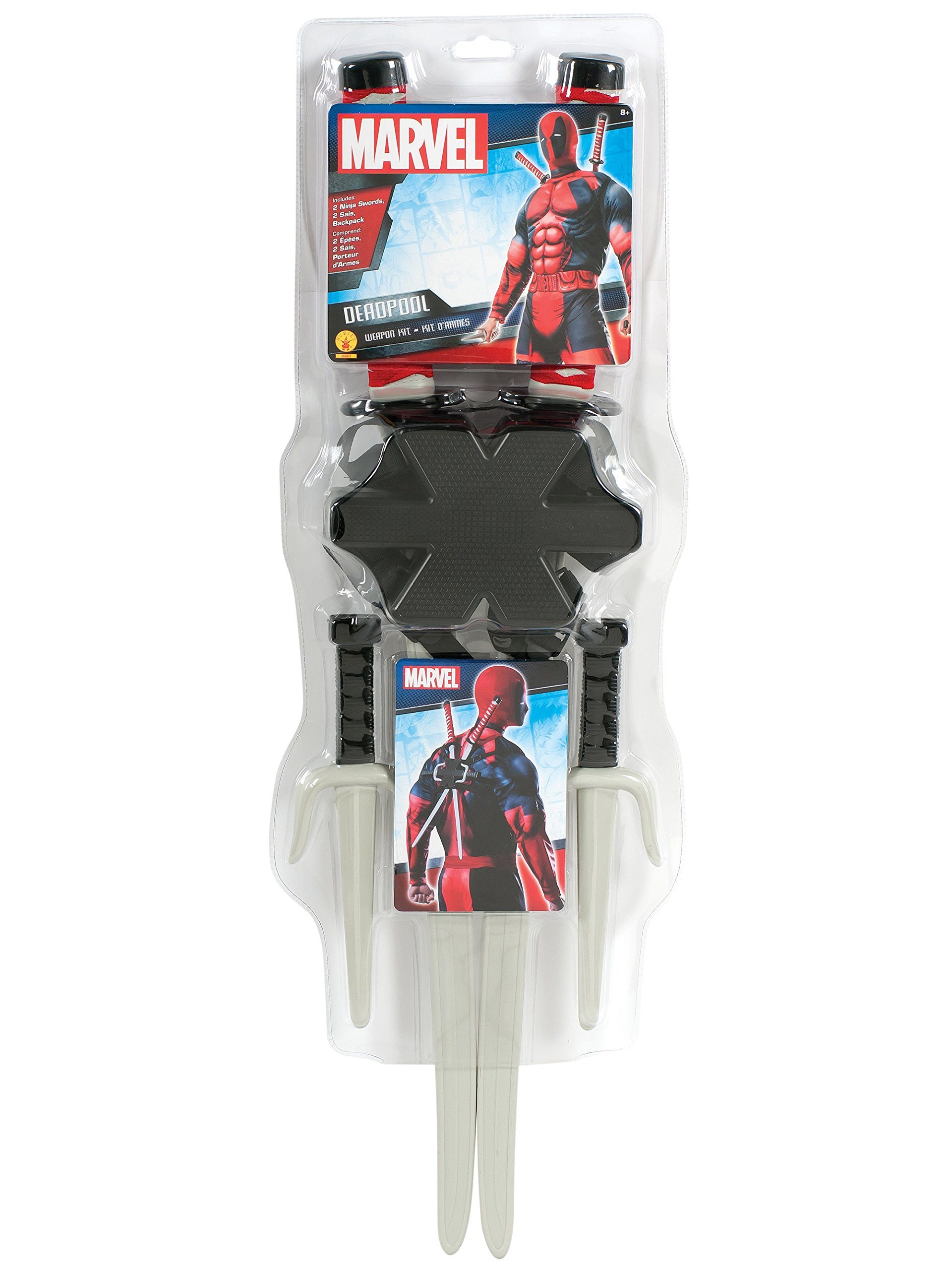 Rubies Costume Accessory Classic Deadpool