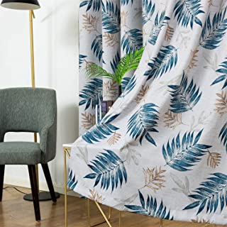 tropical design curtains