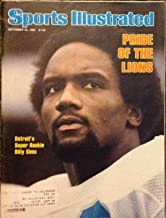 Sports Illustrated Magazine (Billy Sims , Detroit Super Rookie)