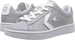 Converse Kids - PL 76 Foundational Leather Ox (Little Kid/Big Kid)