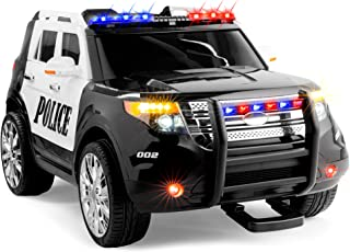 power wheels police car 2 seater