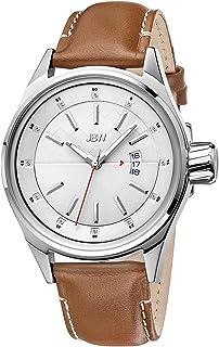 ساعة جيه بي دبليو الفاخرة للرجال روك مرصعة بـ 12 قطعة الماس، ساعة بمينا متعددة الطبقات