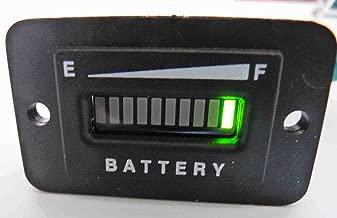 PRO12/24FRC 12 or 24 Volt Battery Indicator Meter - Solar Panel or Marine Trolling Motor 12 or 24 Volts