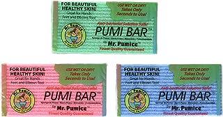 (4 Pack) - Mr. Pumice Callus Remover Pumi Bar: Pedicure Stone & Foot Scrubber - Medium Grit (4 Pack, Assorted Colours)