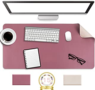 Non-Slip Desk Pad, Waterproof PVC Leather Desk Table...