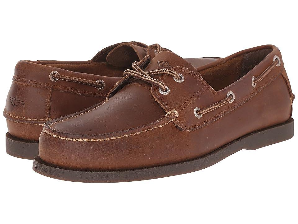 Dockers Vargas Boat Shoe (Rust Crazyhorse) Men